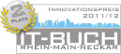 2. Platz des Innovationspreises IT-Buch Rhein Main Neckar 2011/12